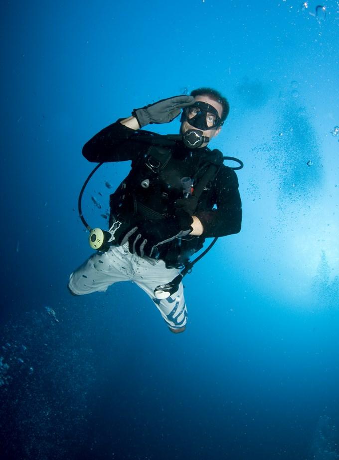 La plongée sous marine n'est pas si simple.