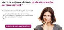 Des centaines de sites !