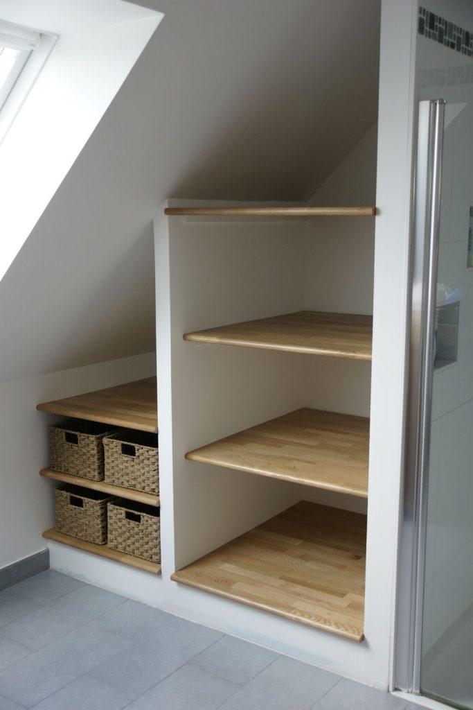 Amenagement placard sous escalier : un souci esthétique un gain d'espace