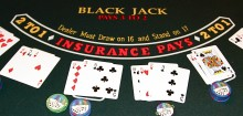 Blackjack France : on peut jouer n'importe où