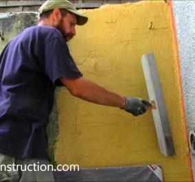Comment enduire un mur exterieur ?