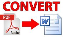Comment enregistrer un document word en pdf ?