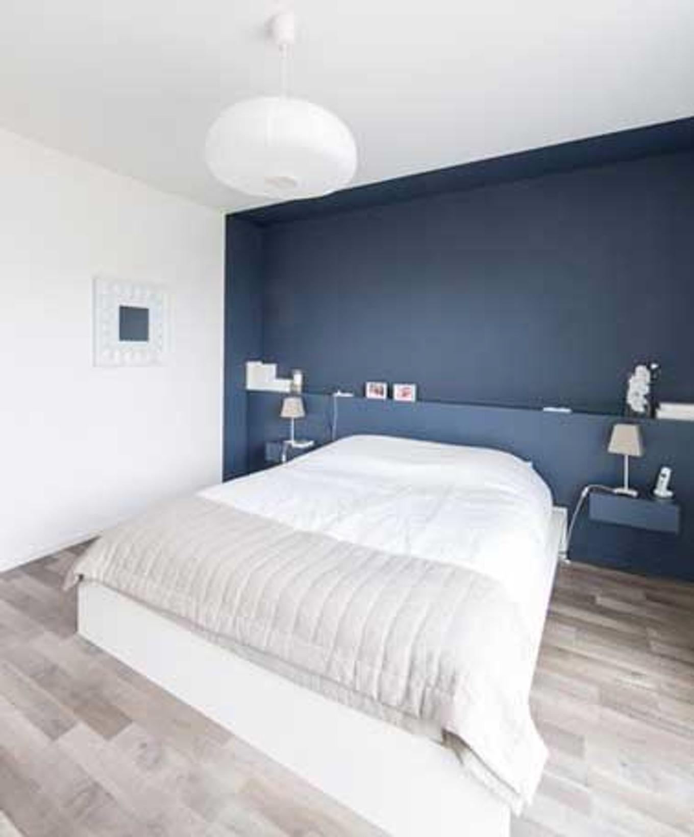 Peindre mur 2 couleurs for Peindre porte interieure 2 couleurs