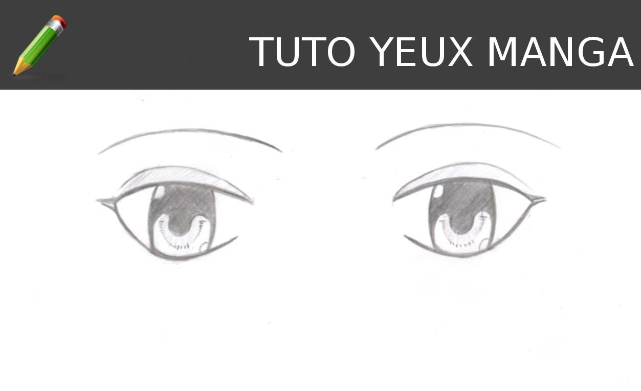 Comment dessiner des yeux manga - Dessiner un manga facilement ...